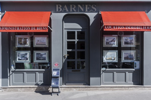 Luxury real estate agency BARNES RENTALS RIVE DROITE