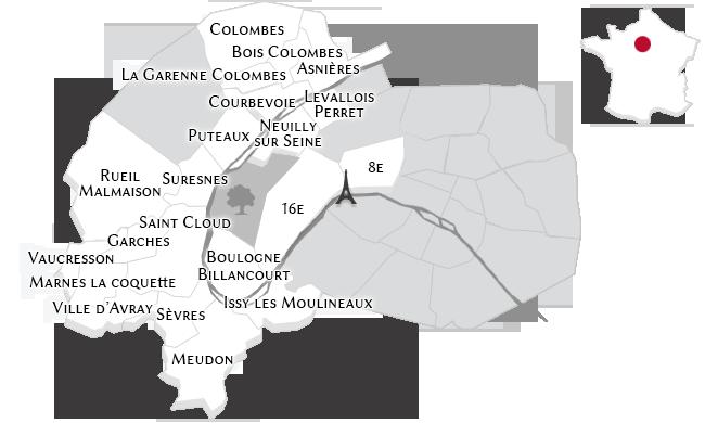Las propiedades de lujo en los Hauts-de-Seine