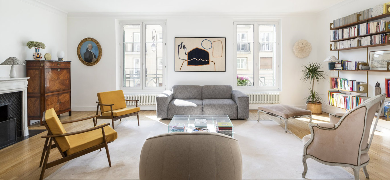 Neuilly-sur-Seine - France - Apartment, 5 rooms, 4 bedrooms - Slideshow Picture 2