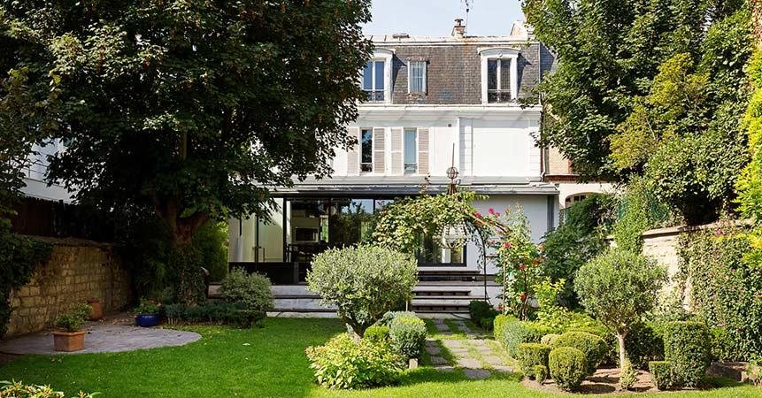 Bien de luxe : percez les secrets de beauté de cette maison de maître du XIXe, à Courbevoie